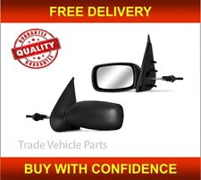 Mazda 121 1996-1999 Door Wing Mirror Manual Black Passenger Side High Quality