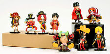 One Piece The New world Z Figures Luffy Nami Sanji Choppe Zoro Usopp Toy New