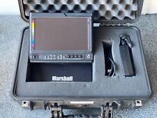 "V-LCD90MD 9"" High Resolution Camera Monitor w/ 3GSDI Modular Input/Output"