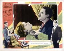 OLD MOVIE PHOTO Flesh And The Devil Lobby Card Greta Garbo John Gilbert 1926