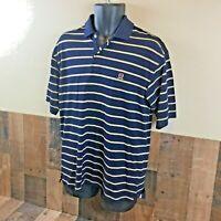 Tommy Hilfiger mens navy blue polo shirt short sleeve size medium //////////