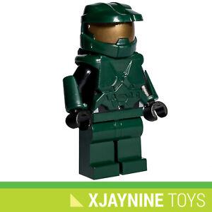 NEW Halo Master Chief Minifig - Genuine Lego with Custom Parts XBOX