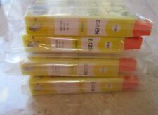 Non-OEM Ink for Epson Stylus  NX420 or compatible E1254/1254) Lot of 4 YELLOW