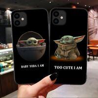 Lovely Baby Yoda Case For iPhone 11 XS XR 6 7 8 Star Wars Disney The Mandalorian