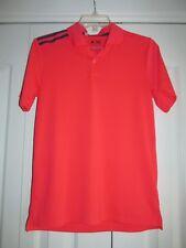Adidas Climacool Boys Size L Youth Bright Pink Golf Shirt