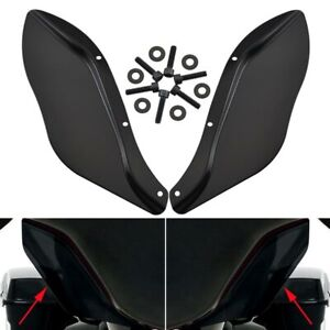 Fairing Windshield Side Wing Air Deflectors for Harley Touring FLHT FLHTC 96-13