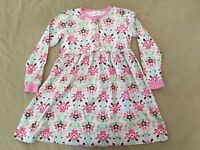 Hanna Andersson Playdress Dress 130 Girls Birds And Flowers