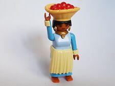 Playmobil Noël Égypte Bergère avec Accessoires, Paysan, Alimentaire, Aliments