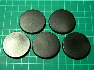 40mm Round Bases for Warhammer 40k 30k AoS Infinity Miniatures (Choose Amount)