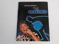 PAUL McCARTNEY PRESS PACK GIVE MY REGARDS TO BROAD STREET