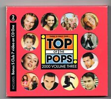 (JE641) Top Of The Pops 2000 Vol 3, 38 tracks various artists - 2000 double CD