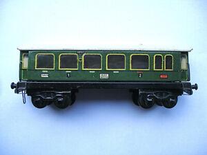 Trix Express 1st and 2nd Class Passenger Wagon 20/152 Pre-War 1935-36
