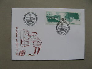 LUXEMBOURG, cover FDC, JUVALUX 1998, ATM vendingmachine stamp