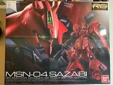 New Bandai RG 1/144 Gundam MSN-04 Sazabi Real Grade Model Kit *Fast Ship*
