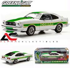 Greenlight 12895 1:18 1978 Ford Mustang Ii Cobra Ii White W/Green