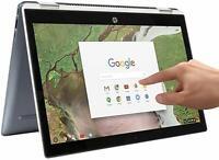 "HP Chromebook x360 14-DA0021NR  14"" Touch Intel  i3-8130U 8GB 64GB Chrome OS"
