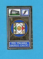 CAMPIONI SPORT 1969-70-PANINI-Figurina- FIGC CALCIO -STEMMA/BADGE-Rec