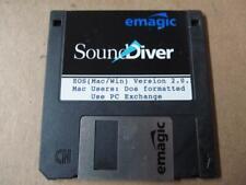Original Emagic Sound Diver EOS Mac WIn Version 2.0.2 Disk