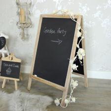 Pizarras y tableros decorativos color principal marrón de madera para el hogar