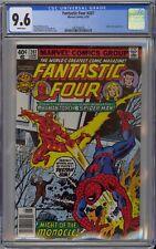 Fantastic Four #207 CGC 9.6 NM+ Wp Marvel Comics 1979 Spider-Man Vs. Human Torch