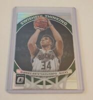 R59,452 - 2017-18 Donruss Optic Swishful Thinking Holo Giannis Antetokounmpo