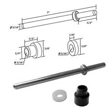 Stainless Steel Pivot Pin with Bushing and Washer for Framed Pivot Shower Doors
