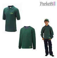 """NEW OFFICIAL UNIFORM CUBS SET SWEATSHIRT AND POLO SHIRT TOP AND 26""""- 34"""" S3"""