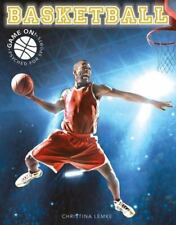 Basketball (Game On! Psyched for Sports)-ExLibrary