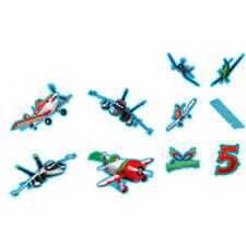 Disney Set of 10 Flat   Planes Stickers Home Decor Boys Girls Children Bedroom