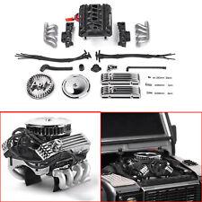 GRC V8 Simulate Engine Motor Lüfter F82 Für 1/10 RC Crawle TRX4 SCX10 RC4WD D90