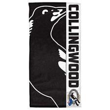 AFL COLLINGWOOD MAGPIES BEACH/BATH TOWEL - BRAND NEW