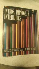 Rick Deasley: Intros, Improvs & Interludes, on 16 Hymns; organ (Lillenas)