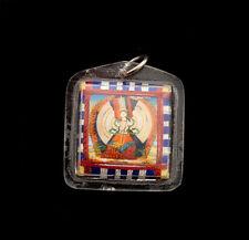 AMULETTE TIBETAINE BOUDDHA COMPASSION PROTECTION PORTE BONHEUR  TALISMAN 5162