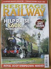 HERITAGE RAILWAY THE COMPLETE STEAM NEWS MAGAZINE ISSUE 131 NOVEMBER 26 2009