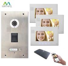 Mathfel Türsprechanlage mit Kamera - Silber
