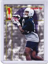 Ray Lewis Rookie 1996 Fleer #165