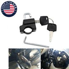 Motorcycle Universal Anti-theft Helmet Lock Security For 7/8'' 22mm Handlebar US