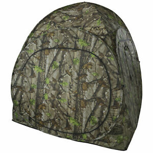 Pop-Up 1 Man Camouflage Stalking Hunting Photography Shooting Blind Tent Hide