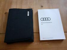 Notice Manuel d'utilisation Audi A3
