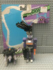 Transformers Action Masters Shockwave 1990 G1 100% Complete, Cut Card