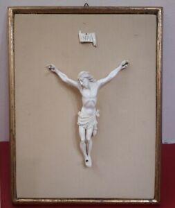 Antico Crocifisso a vorio Gesù Stile 700 eseguito a mano! Bellissimo!