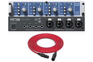 RME QuadMic II | 4-Channel Microphone Preamp | Pro Audio LA