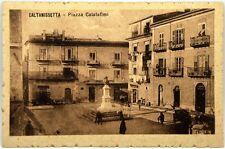 Cartolina Formato Piccolo - Caltanissetta - Piazza Calatafimi Non Viaggiata