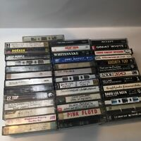 Huge Lot Of Rock/metal Cassette Tapes!! Sabbath Accept Floyd Dokken Nirvana NIN