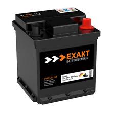 EXAKT Autobatterie 12V 44AH 390A ersetzt 35Ah 36Ah 40Ah 42Ah 45Ah FIAT Punto