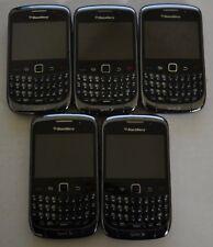 BlackBerry Bold Model 9330 Black Sprint Smartphone For Parts Lot of 22