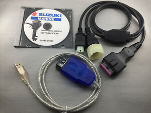 SUZUKI MARINE Professional Outboard Diagnostic CABLE KIT  SDS 8.3