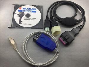 SUZUKI MARINE Professional Outboard Diagnostic CABLE KIT  SDS 8.3