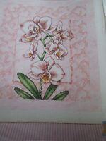 'Velvet Pink Blush' Susan Bates cross stitch chart(only)