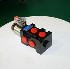 Hydraulic Solenoid Selector Diverter Valve 12v Dc 13 Gpm 3625 Psi 50lpm